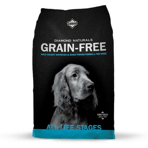 Diamond Naturals Grain Free Real Meat Recipe Natural Dry Dog Food