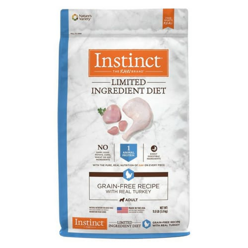 Natures Variety Instinct Grain Free Recipe Natural Dry Dog Food
