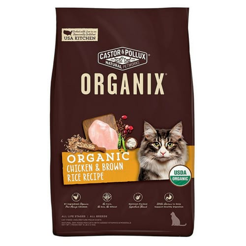 Castor Pollux Organix Dry Cat Food