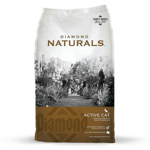 Diamond Naturals Real Meat Recipe Natural Dry Cat Food