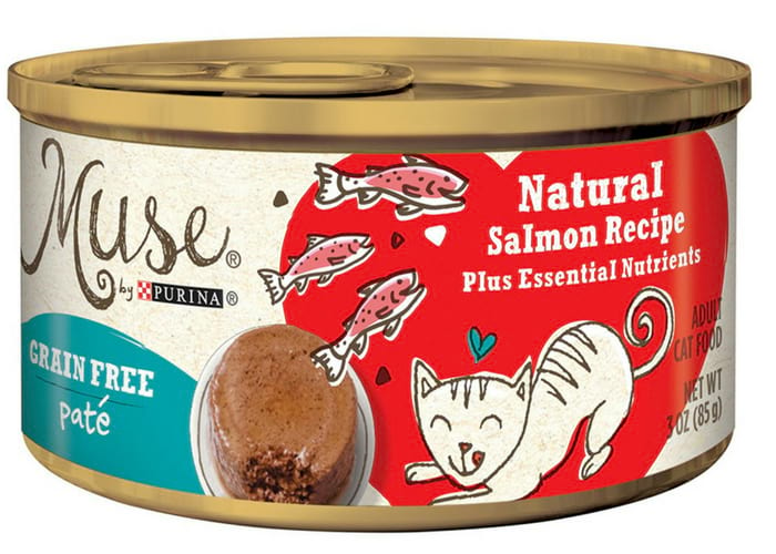 Muse by Purina Grain-Free Natural Pate Recipe Adult Wet Cat Food