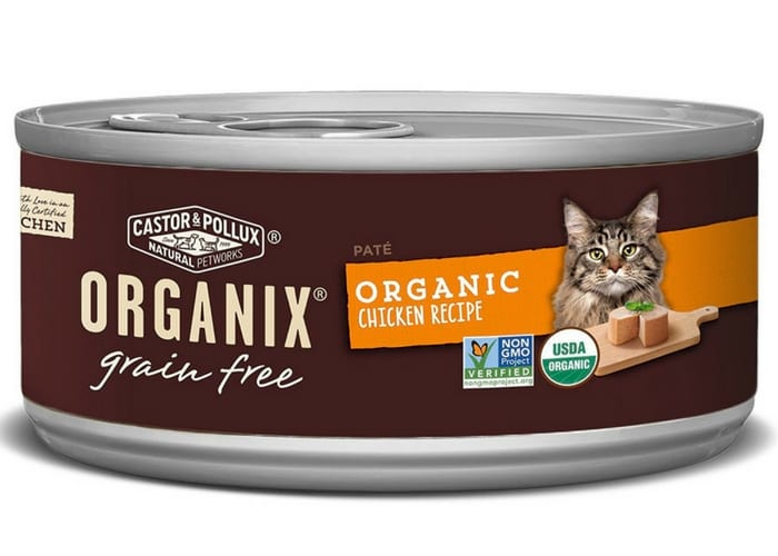 Organix Organic Canned Cat Food