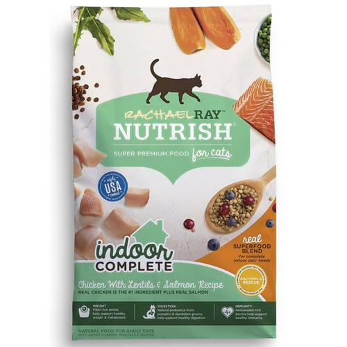 Rachael Ray Nutrish Longevity Natural Dry Cat Food