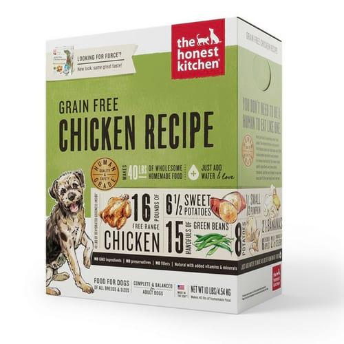 The Honest Kitchen Grain Free Chicken Recipe Dehydrated Dog Food
