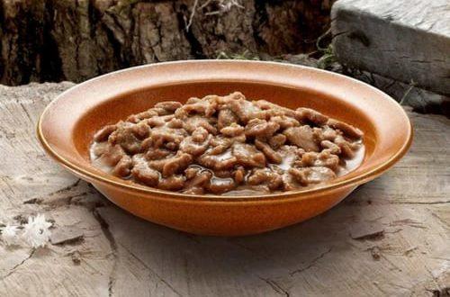 BLUE Wilderness Wet Cat Food Inside