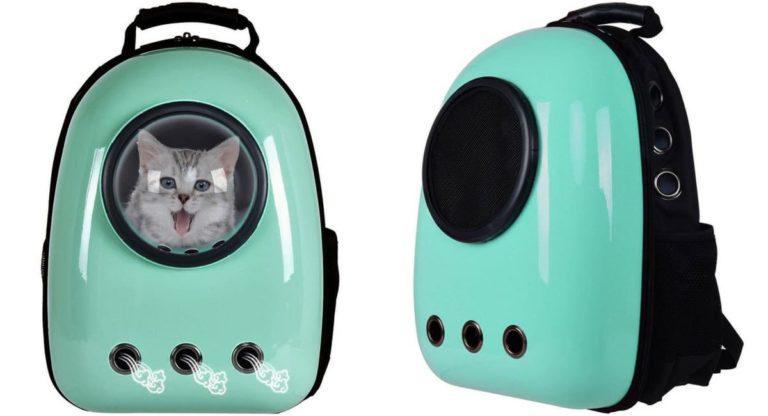 Giantex Cat Carrier Travel Backpack